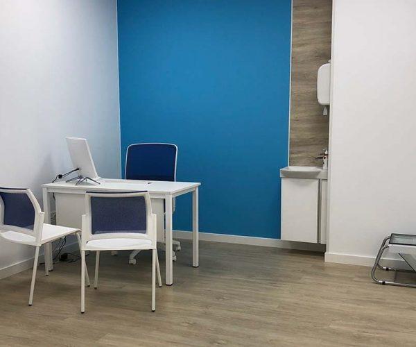 gabinete de fisioterapia