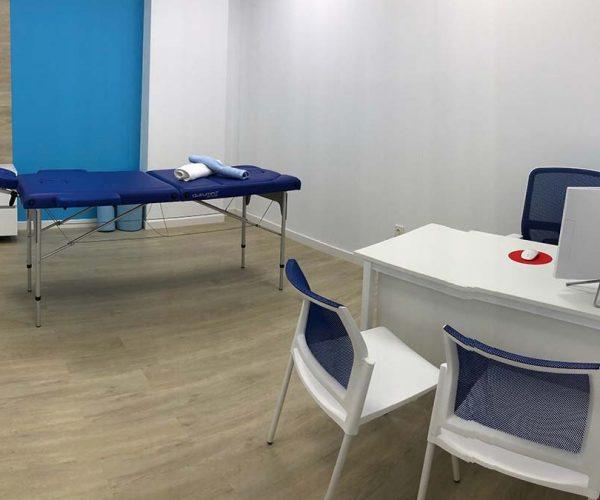 sala tratamientos fisioterapia Zaragoza