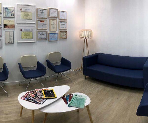 sala de espera fisioterapia